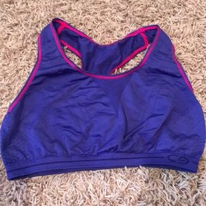Girls sport bra